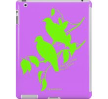 Green Rose-crowned fruit dove iPad Case/Skin