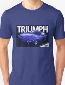 Triumph TR7 advert ('80's) T-Shirt