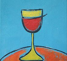 Glass O Wine by Rischelle Brooks