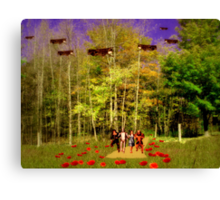 End Of The Yellow Brick Road Canvas Print