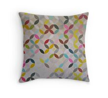 Collective all over print Throw Pillow