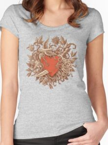 Heart of Thorns  Women's Fitted Scoop T-Shirt