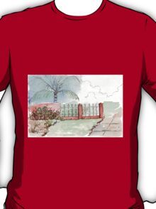 Entrance to our smallholding T-Shirt