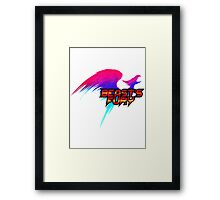 Beast's Fury Design T-shirt Framed Print
