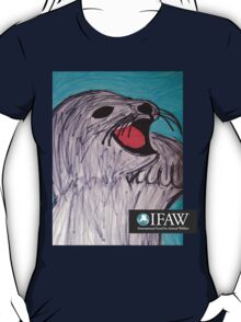 Save the Cute Seals - IFAW logo T-Shirt
