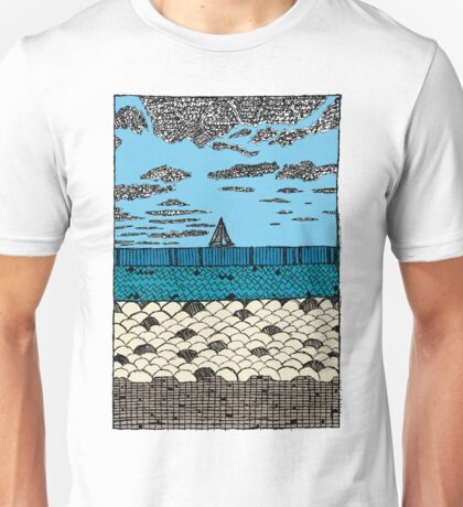 Crystal Cove Sailing Unisex T-Shirt