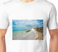 Seven Sisters from Birling Gap: East Sussex, UK T-Shirt