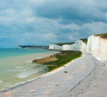 Seven Sisters from Birling Gap: East Sussex, UK Sticker