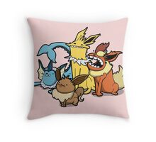 Number 133, 134, 135 and 136 Throw Pillow