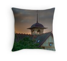 The Pavilion at Dusk Throw Pillow