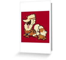 Number 58 and 59 Greeting Card