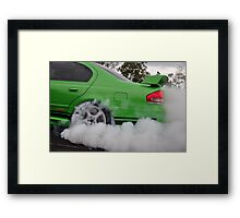 GT smoke screen Framed Print