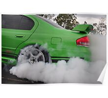 GT smoke screen Poster
