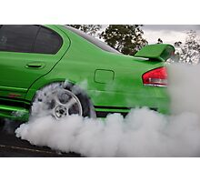 GT smoke screen Photographic Print