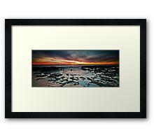 North Beach Last Light Framed Print