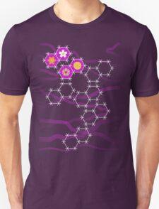 Spring Snowflakes (Purple) T-Shirt
