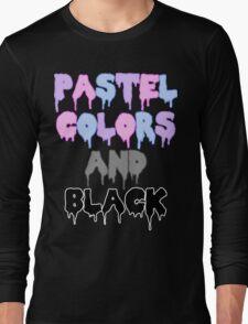 Pastel colors Long Sleeve T-Shirt