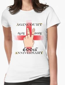 Battle of Agincourt 600th Aniversary Womens Fitted T-Shirt
