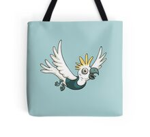 Sulphur Crested Cockatoo in a singlet Tote Bag