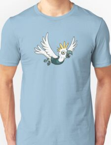 Sulphur Crested Cockatoo in a singlet Unisex T-Shirt