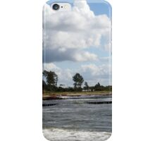 Stormy Baltic Sea beach iPhone Case/Skin