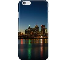 Blue Hour - Toronto's Dazzling Skyline Reflecting in Lake Ontario iPhone Case/Skin