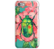 - Wild rose pattern - iPhone Case/Skin