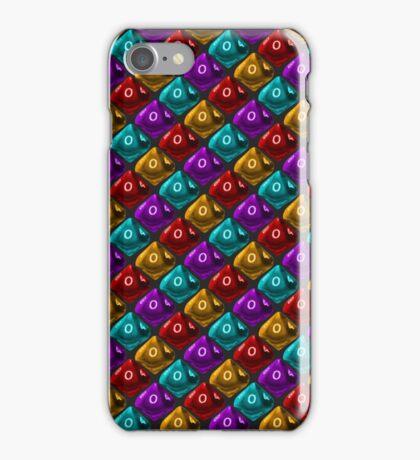 DUNGEON MASTER: 'No Damage' Pattern (Black) iPhone Case/Skin