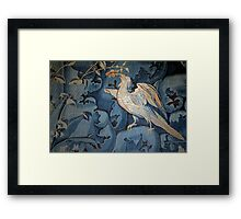 Silver Pheasant of Chenonceaux Framed Print