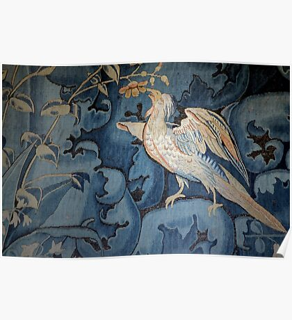 Silver Pheasant of Chenonceaux Poster