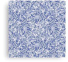 - Morris (blue) - Canvas Print