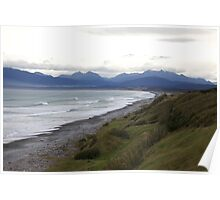 New Zealand South Island Poster