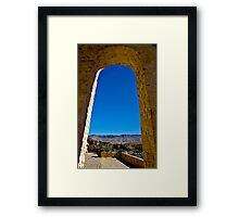 Entrance to Shiraz - Iran Framed Print