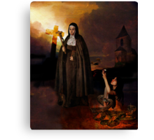 Paradise Lost  Canvas Print