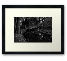 Alfred Nicholas' Boathouse #2 Framed Print