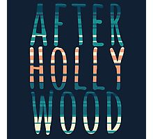 After Hollywood Blue Photographic Print
