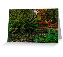 Autumn Colours at Alfred Nicholas Memorial Gardens Greeting Card