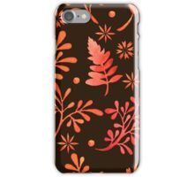 - Red leaves pattern - iPhone Case/Skin