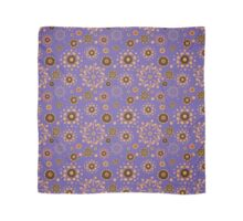 - Coffee pattern - violet - Scarf