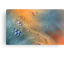 Oil and Water Abstract # 2  Canvas Print