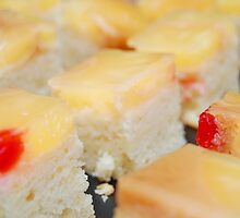 Row of Fruit cakes by walterericsy