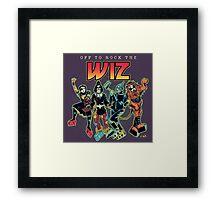 Off To Rock The Wiz Framed Print