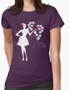 A Touch of Life Womens Fitted T-Shirt