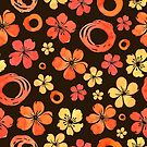 - Floral doodle pattern - by Losenko  Mila