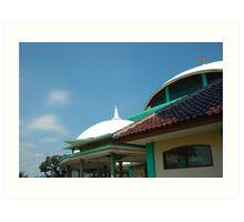 masjid Art Print