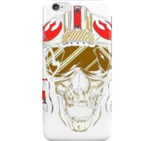 X-Wing Skull Helmet T-Shirt iPhone Case/Skin
