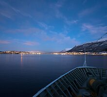 Approaching Tromsø by David Burren