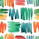 - Colorful doodle pattern - by Losenko  Mila