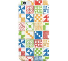 Abstract Squares Primary iPhone Case/Skin