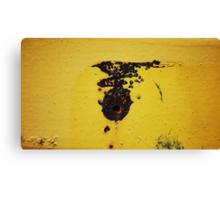 'The Road Runner' -  Last Seen Heading East Across The Desert Canvas Print